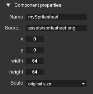 spritesheet-component-inspector